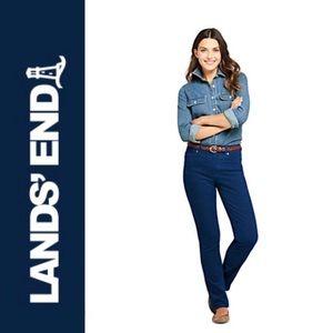 BNWT Lands' End Mid-Rise Corduroy Pants